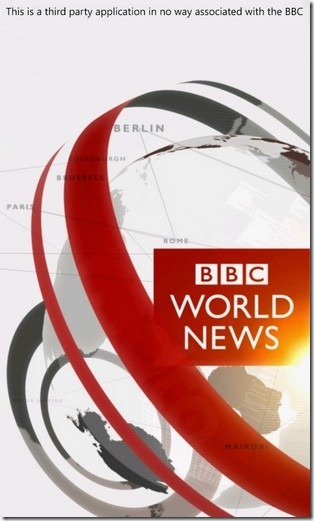BBC News Mobile For Windows Phone 7