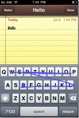 Install Swype Keyboard on iPhone