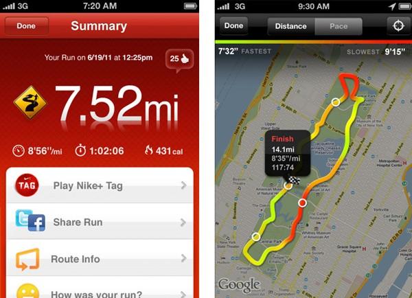 Nike + GPS Social Update